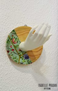 "Percheros pared ""Hand"""